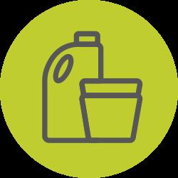 Piirroskuva muovipakkauksista
