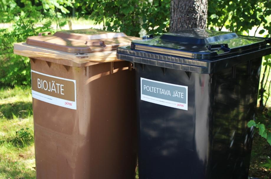Omakotitalo voi liittyä jätehuoltoon omalla jäteastialle tai  kuulumalla jätekimppaan tai liittymällä aluekeräyspisteen käyttäjäksi.