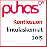 Kontiosuon lintulaskennat 2015